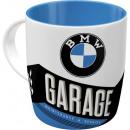 Tasse aus stabiler Keramik BMW 0,33 l