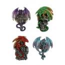 grossiste Figurines & Sclulptures: Polyresin aimant de dragon 7cm