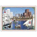 mayorista Tarjetas de felicitacion: Nostalgia postal / tarjeta de felicitación Dusseld