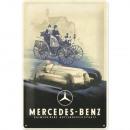 Blechschild Mercedes - Benz 20 x 30cm