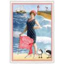 Großhandel Glückwunschkarten: Nostalgie Postkarte / Grußkarte von der ...
