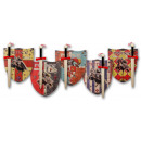 wholesale Wooden Toys: Set of 2 Templer  large wooden sword + sign