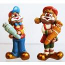 Clowns mit Schultüten 6,7cm