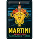 Großhandel Bilder & Rahmen: Blechschild Martini 20 x 30cm