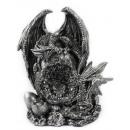 Großhandel Dekoration: Drachen auf Felsen mit Licht
