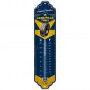 Großhandel Wetterstationen: Blech Thermometer Goodyear 6,5 x 28cm