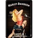 BlechpostkarteHarley - Davidson10 x 14cm