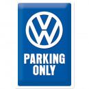 Großhandel Bilder & Rahmen: Blechschild Volkswagen 20 x 30cm