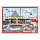 mayorista Tarjetas de felicitacion: Nostalgia postal / tarjeta de felicitación Herings
