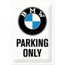 Blechschild BMW 20 x 30cm