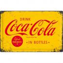 Großhandel Bilder & Rahmen: Blechschild Coca - Cola 40 x 60cm
