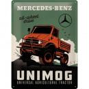 Blechschild Mercedes - Benz 30 x 40cm