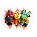 wholesale Cleaning: Witch for hanging on broom 17cm