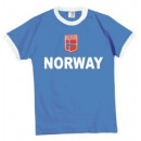 wholesale Shirts & Tops: T-Shirt Norway with embroidered emblem !!! Top!