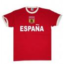 ingrosso Ingrosso Abbigliamento & Accessori: T-Shirt Spagna con  le armi bastone !!! Coppa del M