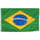 Großhandel Fanartikel & Souvenirs: Brasilien Fahne / Flagge 90x150cm !!! WM 2022