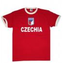 Großhandel Shirts & Tops: T-Shirt Tschechien mit Stickwappen !!! EM 2020 !!!