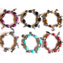 Beggars bracelet /  bracelet avec charme charmes!
