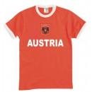 T-Shirt Österreich mit Stickwappen !!! EM 2020 !!!