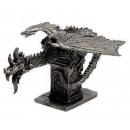Metall Drachen und Fantasy Figur von Altaya !!!