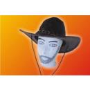 Großhandel Lichterketten: Cowboyhut mit Kette Kunstleder !!!