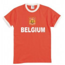 Großhandel Shirts & Tops: T-Shirt Belgien mit Stickwappen !!! EM 2020 !!!
