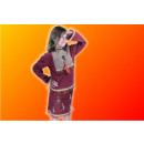 Großhandel Kinder- und Babybekleidung: Indianerkostüm  Mädchen 100% Baumwolle !!!