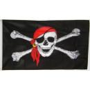 Großhandel Spielwaren: Pirat Fahne /  Flagge 90x150cm ! Topp !!!