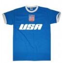 Großhandel Shirts & Tops: T-Shirt USA mit Stickwappen !!! WM 2022