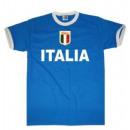 Großhandel Shirts & Tops: T-Shirt Italien mit Stickwappen !!! EM 2020 !!!