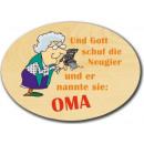 Großhandel Scherzartikel: Ovales Spruchbrett aus Ahornholz !!! Topp !!!