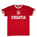 T-Shirt Kroatien mit Stickwappen !!! EM 2020 !!!