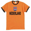 wholesale Shirts & Tops: T-Shirt Holland  with stitched emblem !!! 2018 Worl