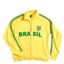 wholesale Coats & Jackets: Zip Jacket Brazil  !!! Topp !!! 2018 World Cup