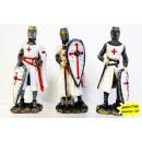grossiste Gadgets et souvenirs: Polyresin Croisés / Templiers 12cm