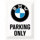 Blechschild BMW 30 x 40cm