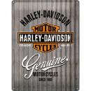 Blechschild Harley - Davidson 30 x 40cm
