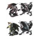 wholesale Fan Merchandise & Souvenirs: Standing dragon, metallic scales look