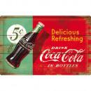 Blechschild Coca - Cola 40 x 60cm