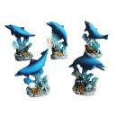 mayorista Gadgets y recuerdos: Delfines con colorido brillo y 6 cm de oro