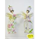 groothandel Home & Living: Elfen staan met bloem hoofd
