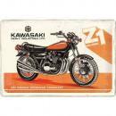 Blechschild Kawasaki 20 x 30cm