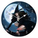 wholesale Clocks & Alarm Clocks:Clock Witch Ø 18cm
