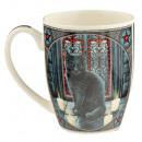 Tasse En Porcelaine Chat Lisa Parker