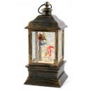 wholesale Wind Lights & Lanterns: Lantern with snowmen 22cm