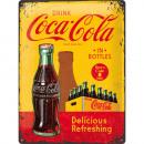 BlechschildCoca - Cola30 x 40cm
