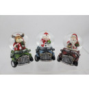 groothandel Stationery & Gifts:Snow Globe 45mm Jeep