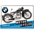 Großhandel Geschenkartikel & Papeterie: Blechpostkarte BMW 10 x 14cm