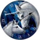 Wall Clock Unicorn Lisa Parker