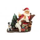Kerstman op Rocking Chair